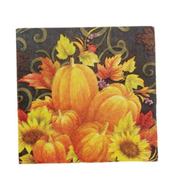 Pumpkin Tapestry Partyware