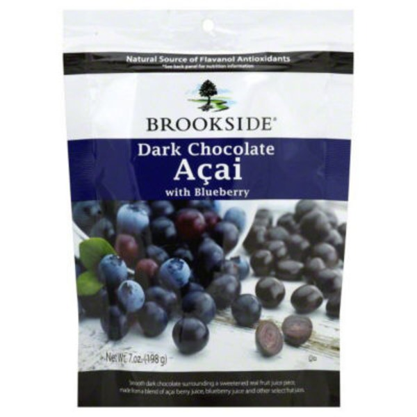 Brookside Acai & Blueberry Flavors Dark Chocolate
