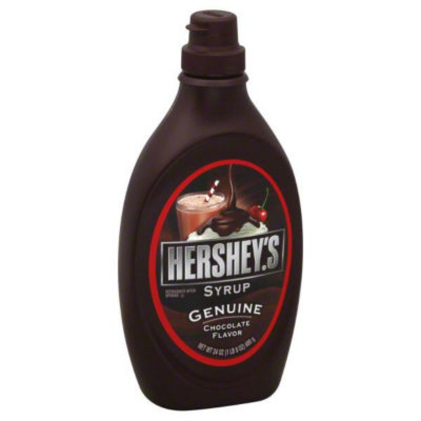 Hershey Genuine Chocolate Flavor Syrup