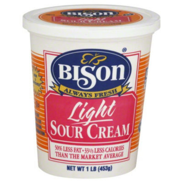 Bison Sour Cream, Light