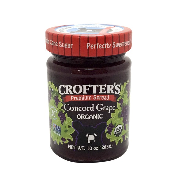 Crofter's Premium Organic Concord Grape Spread