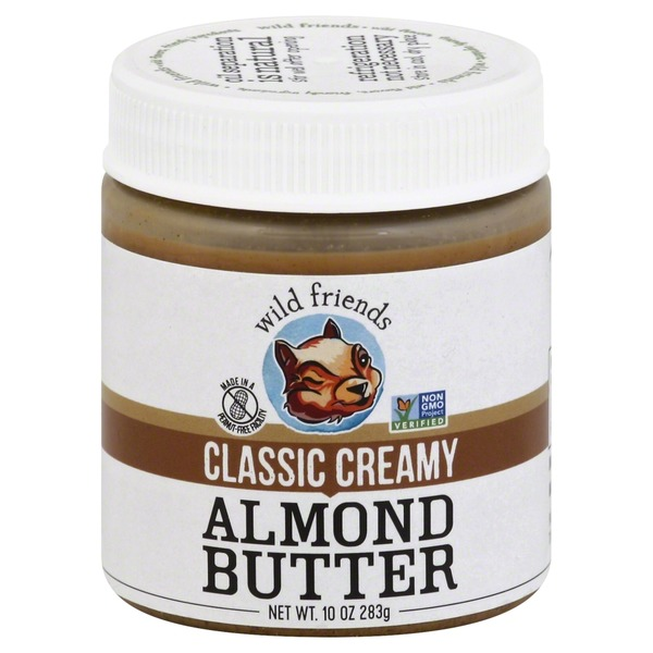 Wild Friends All-Natural Classic Creamy Almond Butter