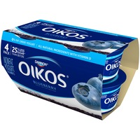 Oikos Fruit on the Bottom Greek Blueberry Nonfat Yogurt