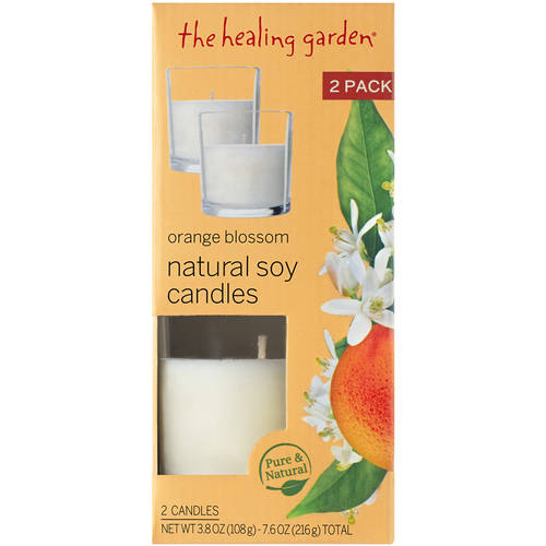 The Healing Garden Orange Blossom Natural Soy Candles