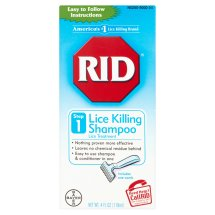 Bayer Rid Lice Treatment Lice Killing Shampoo, 4 fl oz