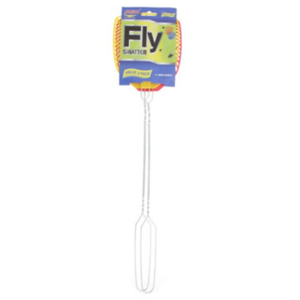 Pic Fly Swatter Wire Handle Assorted Colors