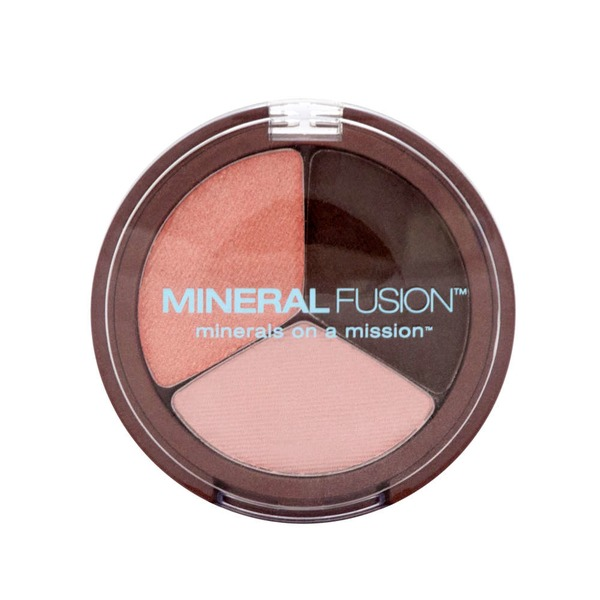 Mineral Fusion Eye Shadow Trio, Rose Gold