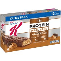 Kellogg's Special K Protein Meal Bars Value Pack, Chocolate Peanut Butter, 1.59 oz, 12 ct