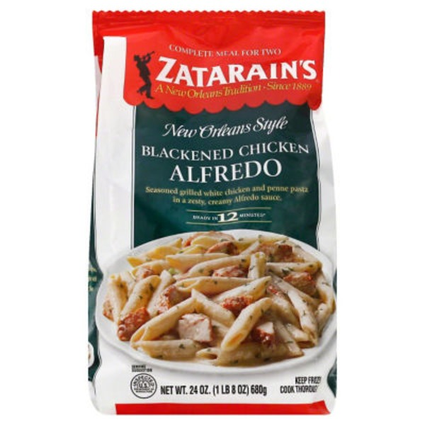 Zatarain's Blackened Chicken Alfredo Complete Meal for Two