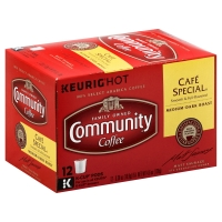 Community Coffee Cafe Special Medium Dark Roast Single Serve Cups