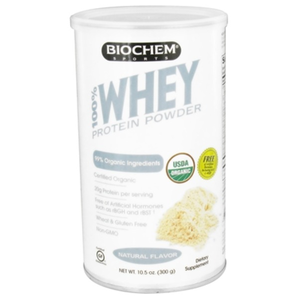 Biochem Organic Whey Protein Powder Natural Flavor