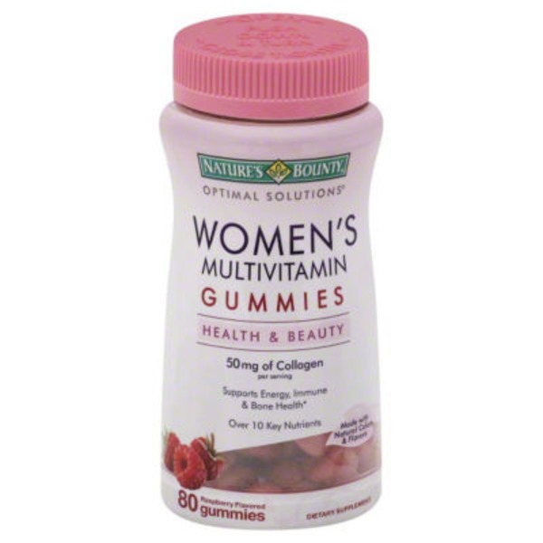 Nature's Bounty Women's Multivitamin Gummies, Raspberry