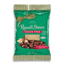 Russell Stover Chocolate Covered Peanuts, 3.6 oz