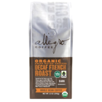 Allegro Coffee Organic Decaf French Roast Whole Coffee Beans