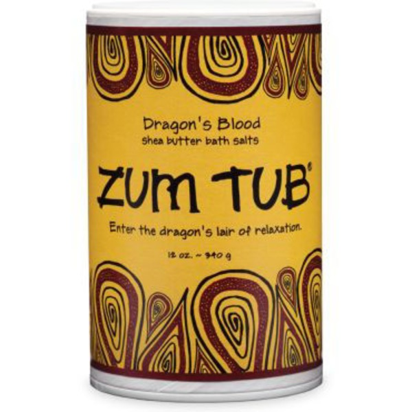 Zum Tub Dragon's Blood Shea Butter Bath Salts
