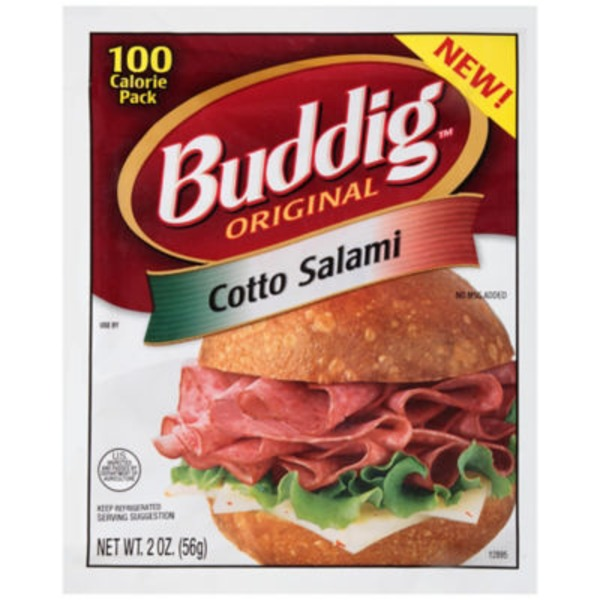Buddig Original Cotto Salami