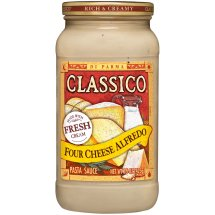 Classico Pasta Sauce Alfredo Four Cheese, 15 Oz