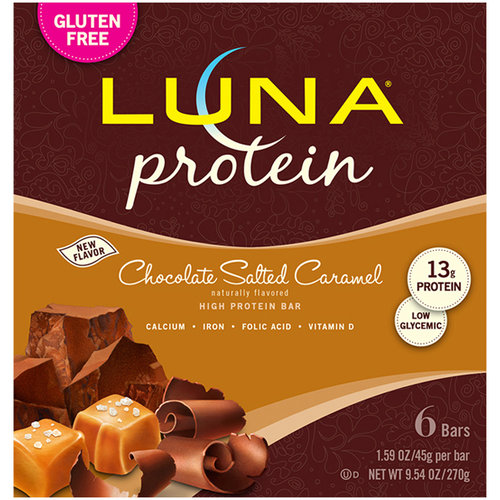 Luna Chocolate Salted Caramel Protein Bars