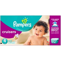 Pampers Cruisers Pampers Cruisers Diapers Size 4 112 count Diapers