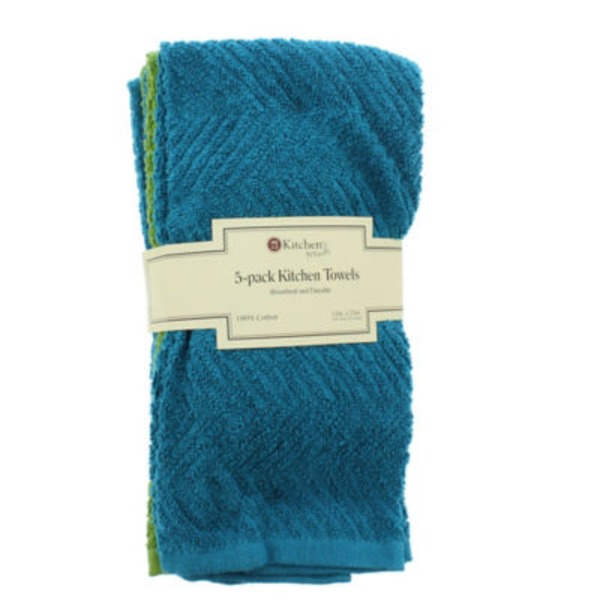 Kitchen Trends Assorted Colors Kitchen Towels