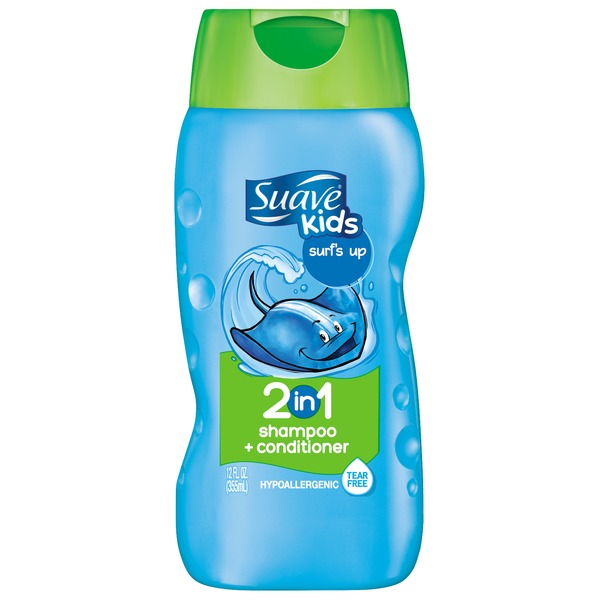 Suave Surf's Up 2 in 1 Shampoo and Conditioner
