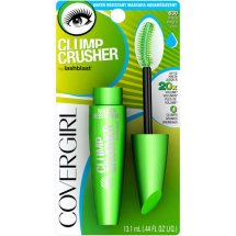 CoverGirl Clump Crusher by LashBlast Water Resistant Mascara Black 830, .44 oz
