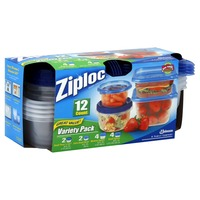 Ziploc Containers & Lids, Variety Pack, Great Value