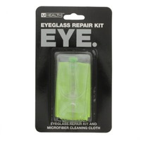 U Health Eyeglass Repair Kit and Microfiber Cleaning Cloth