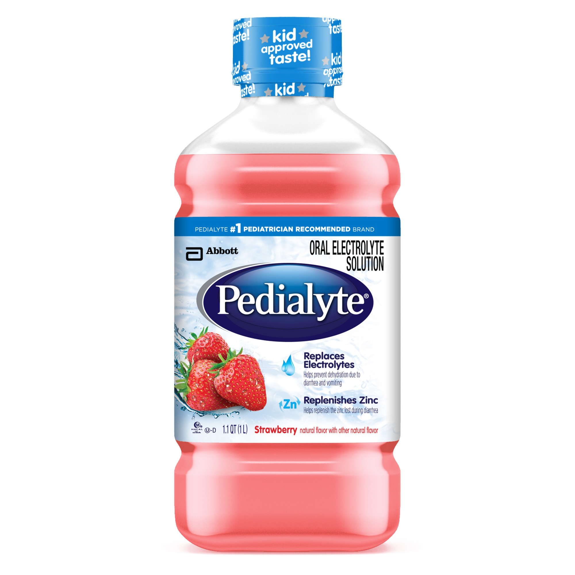 Pedialyte Strawberry Electrolyte Solution
