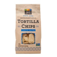 365 Lightly Salted Restaurant Style Tortilla Chips