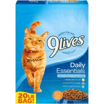 9Lives Daily Essentials Dry Cat Food, 20-Pound