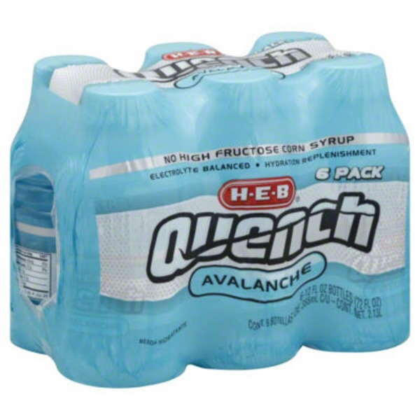 H-E-B Quench Avalanche Drink