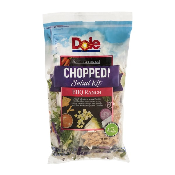 Dole Chopped Salad Kit BBQ Ranch