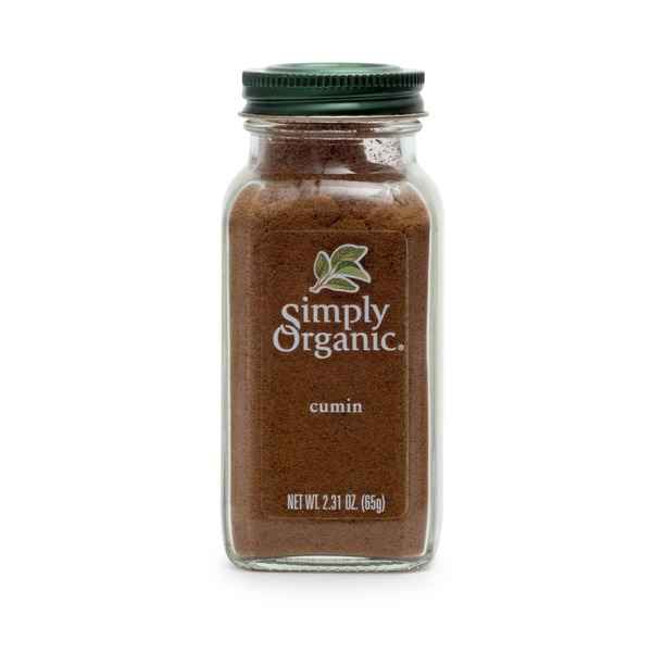 Simply Organic Certified Organic Cumin Ground