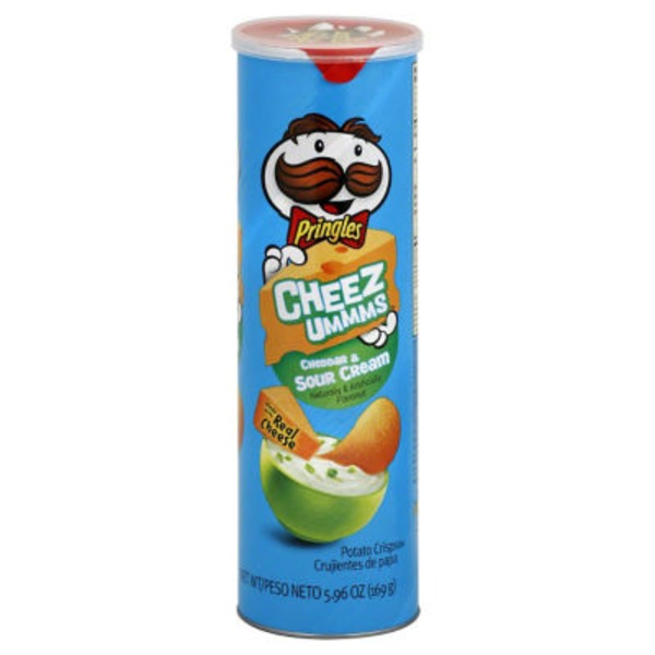 Pringles Cheddar & Sour Cream Potato Crisps