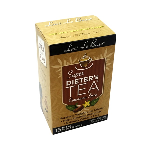 Laci Le Beau Super Dieter's Tea Cinnamon Spice Tea Bags - 15 CT