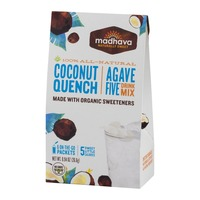 Madhava Agave Five Drink Mix Coconut Quench - 6 CT
