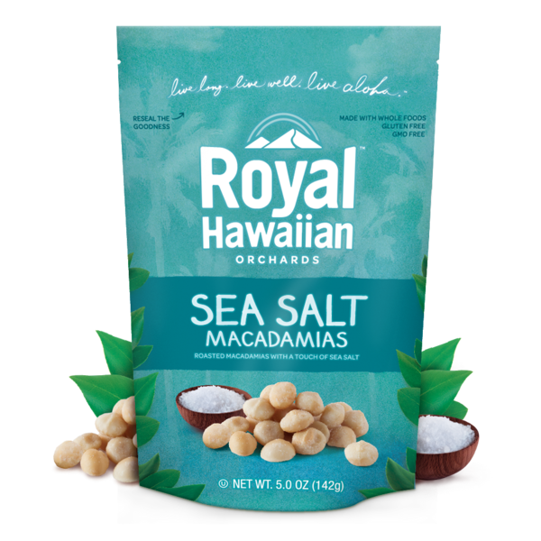 Royal Hawaiian Orchards Macadamia Nuts Sea Salt