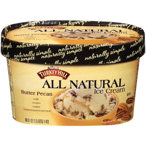 Turkey Hill All Natural Butter Pecan Ice Cream