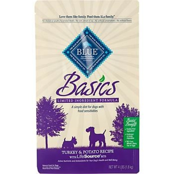 Blue Buffalo Basics Limited Ingredient Formula Turkey & Potato Adult Dry Dog Food