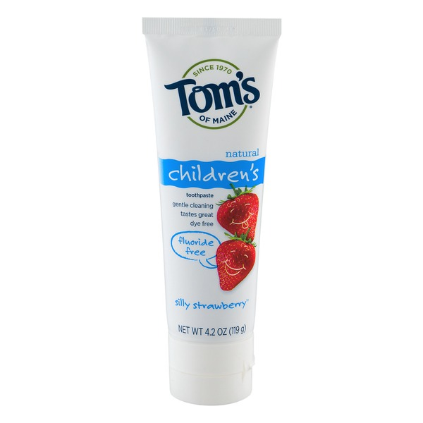 Tom's of Maine Natural Children's Toothpaste Silly Strawberry