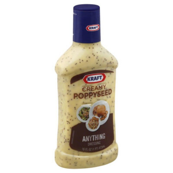 Kraft Salad Dressing Poppyseed Creamy Dressing