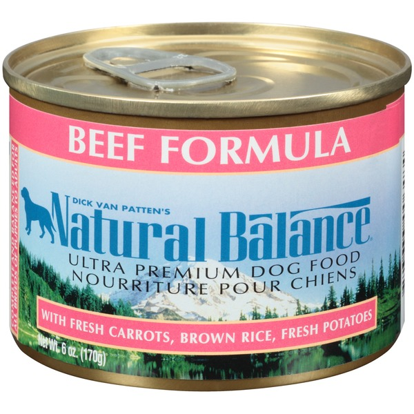 Natural Balance Beef Formuls Dog Food