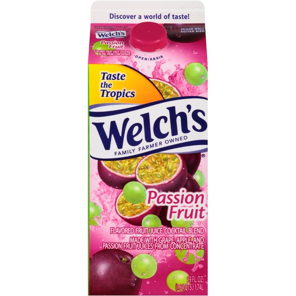 Welch's Passion Fruit Flavored Fruit Juice Cocktail Blend