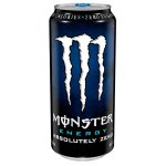 Monster Energy Absolutely Zero Energy Supplement, 4pk