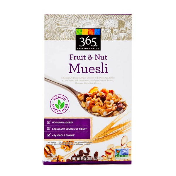 365 Fruit & Nut Muesli