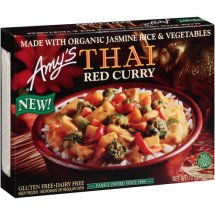Amy's Thai Red Curry Frozen Entree, 10 oz