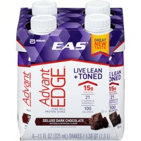 Eas Advantedge Pure Milk Deluxe Dark Chocolate Protein Shake