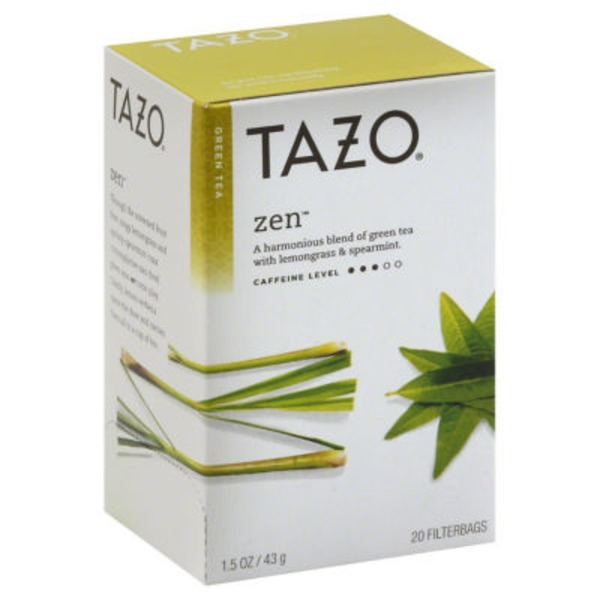 Tazo Tea Green Tea Zen Tea Bags