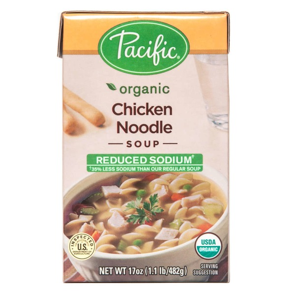 Pacific Reduced Sodium Organic Chicken Noodle Soup